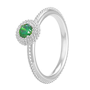 Chamilia Soiree Silver May Birthstone Ring XL - Product number 3755835