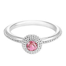 Chamilia Soiree Silver July Birthstone Ring Large - Product number 3755924