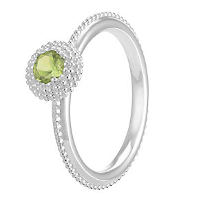 Chamilia Soiree Silver August Birthstone Ring Medium - Product number 3755967
