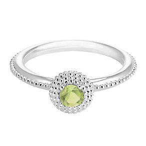 Chamilia Soiree Silver August Birthstone Ring Large - Product number 3755975