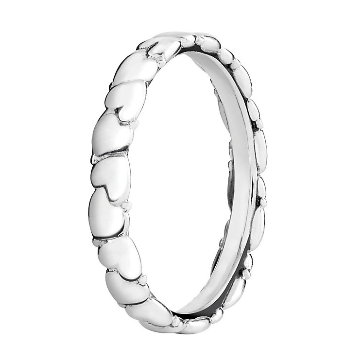 Chamilia Silver Everlasting Heart Stacking Ring XS - Product number 3756025