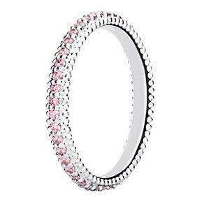 Chamilia Swarovski ZirconiaEternity Stacking Ring XL - Product number 3756343