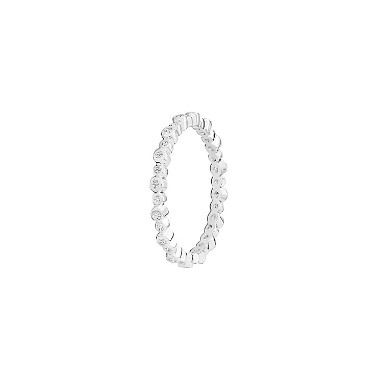 Chamilia Swarovski Zirconia Infinity Stacking Ring XL - Product number 3756416