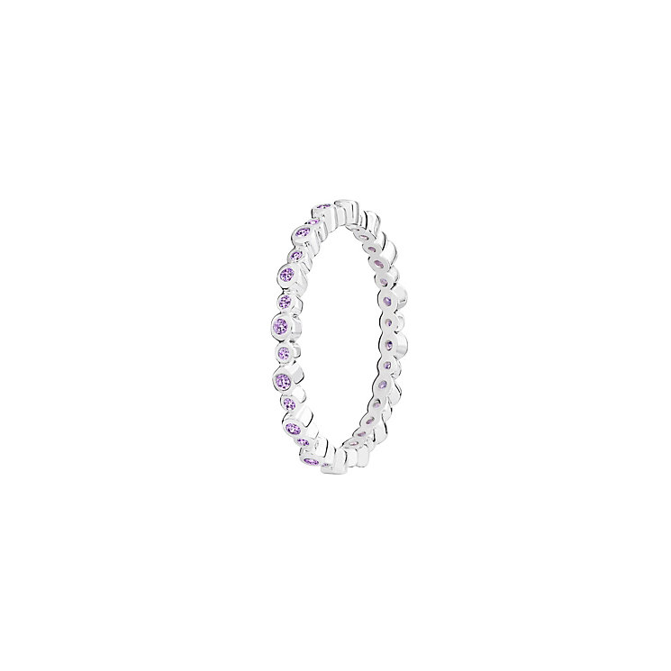 Chamilia Swarovski Zirconia Infinity Stacking Ring XL - Product number 3756432