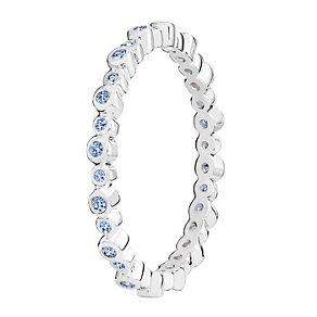 Chamilia Swarovski Zirconia Infinity Stacking Ring XL - Product number 3756459