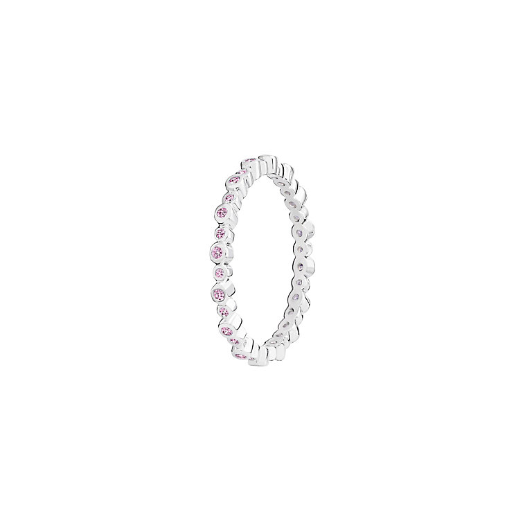 Chamilia Swarovski Zirconia Infinity Stacking Ring XS - Product number 3756467