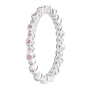 Chamilia Swarovski Zirconia Infinity Stacking Ring XL - Product number 3756475
