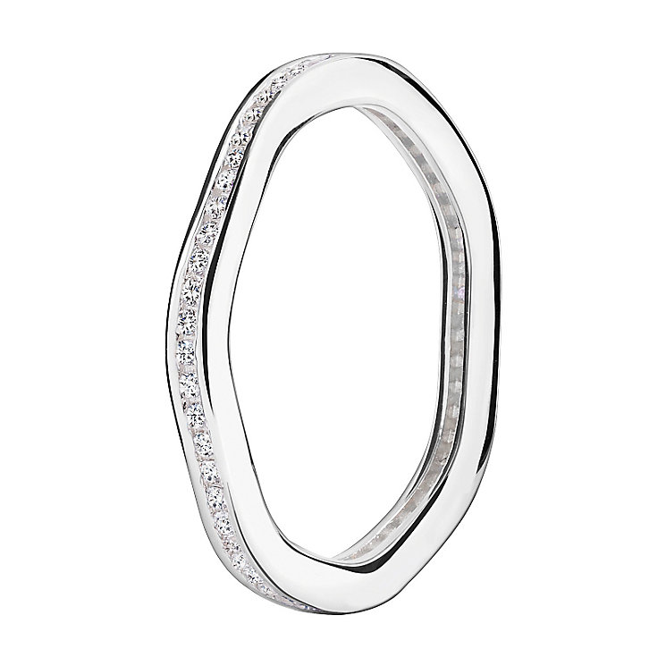 Chamilia Swarovski Zirconia Tranquillity Stacking Ring XL - Product number 3756505