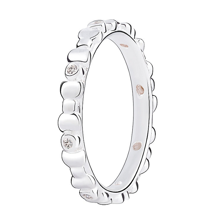Chamilia Swarovski ZirconiaAffinity Stacking Ring XS - Product number 3756661