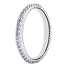 Chamilia Swarovski ZirconiaEternity Stacking Ring XL - Product number 3756688