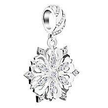 Chamilia Sterling Silver 2015 Brilliance Snowflake Bead - Product number 3756750