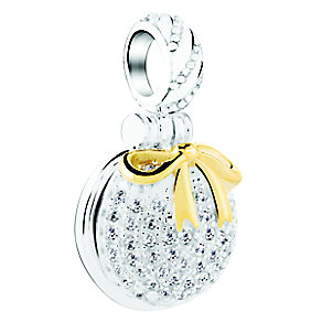 Chamilia Silver Inner Peace Stone Set Ornament Charm Bead - Product number 3756858