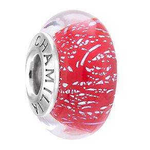 Chamilia Sterling Silver Murano Glass Mrs Claus Bead - Product number 3756912