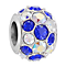 Chamilia Sterling Silver Diagonal Splendour Stone Set Bead - Product number 3757056