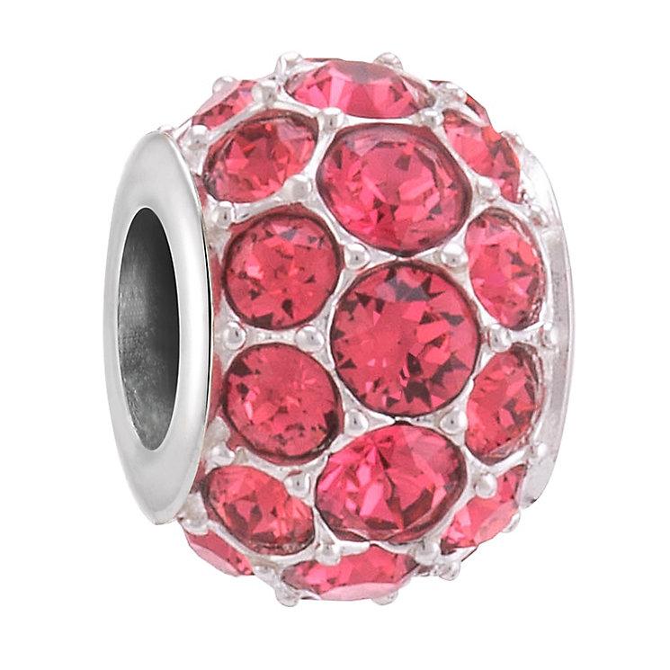 Chamilia Splendour Silver Indian Pink Swarovski Bead - Product number 3757072