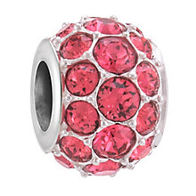 Chamilia Splendour Silver Indian Pink Swarovski Bead - Product number 3757072