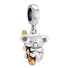 Chamilia Sterling Silver Gold-Plated Koala Cutie Charm Bead - Product number 3757277