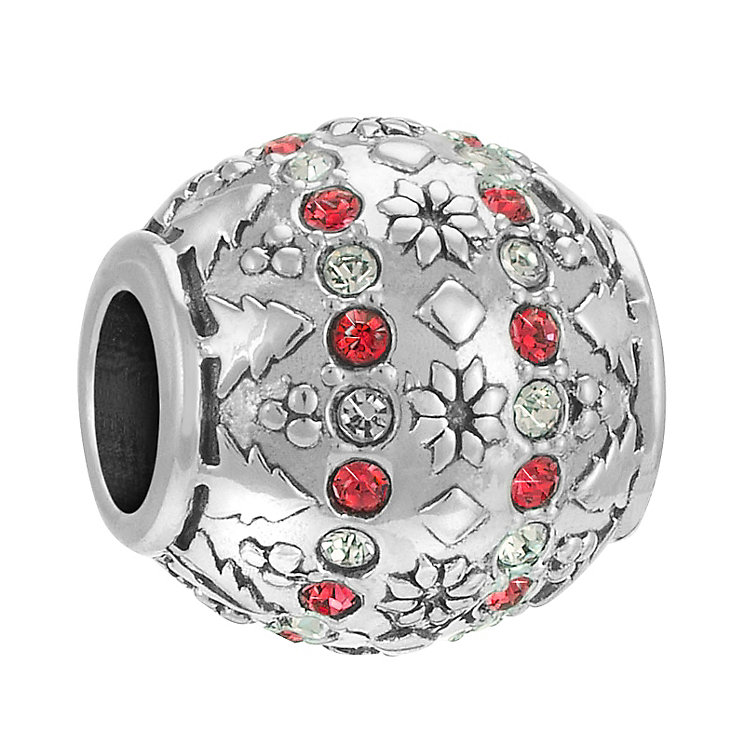 Chamilia Sterling Silver Stone Set Fair Isle Bead - Product number 3757439