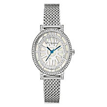 Wittnauer Charlotte ladies stainless steel stone set watch - Product number 3760251