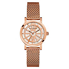 Wittnauer Charlotte ladies' rose gold-plated watch - Product number 3760308