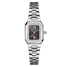 Wittnauer Madelyn ladies' stainless steel stone set watch - Product number 3760456