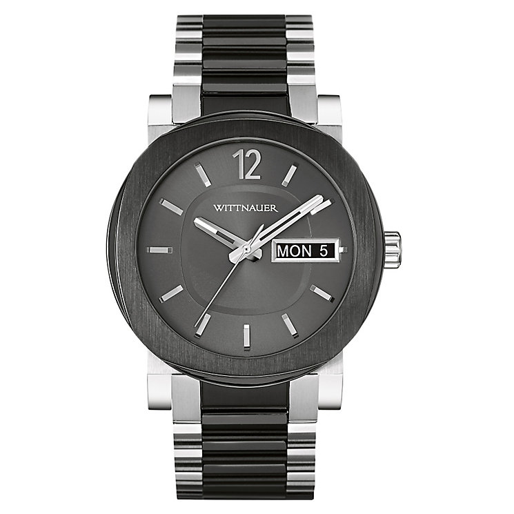 Wittnauer Aiden men's two colour bracelet watch - Product number 3760553
