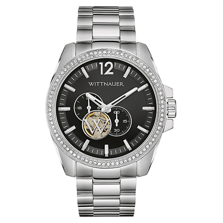 Wittnauer Lucas men's stainless steel bracelet watch - Product number 3760618
