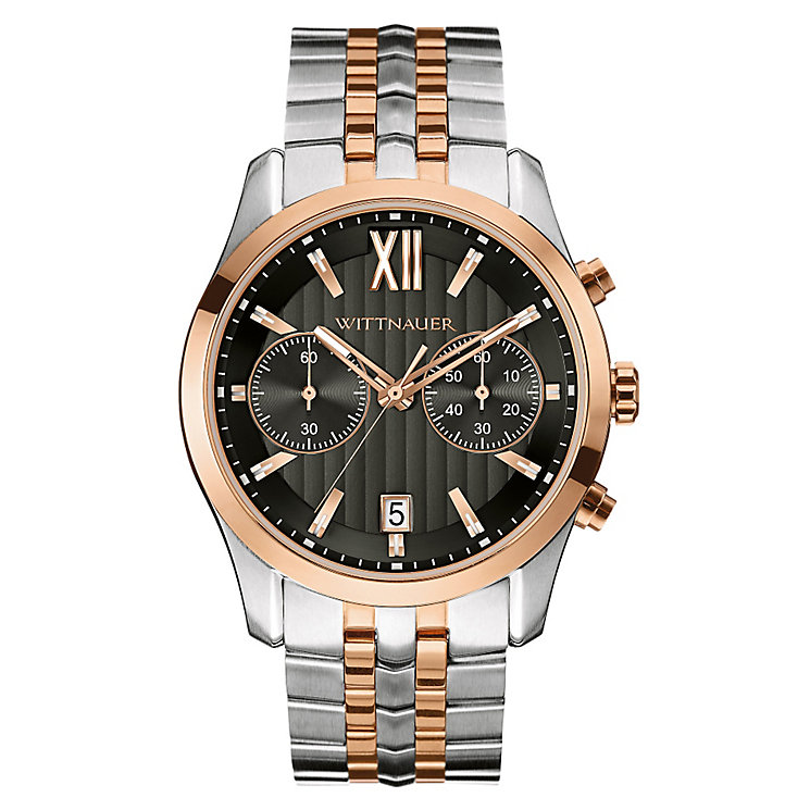 Wittnauer Michael men's rose gold-plated bracelet watch - Product number 3760642