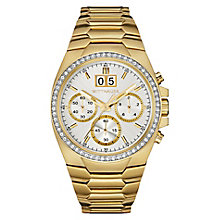 Wittnauer Brody men's yellow gold-plated bracelet watch - Product number 3760650