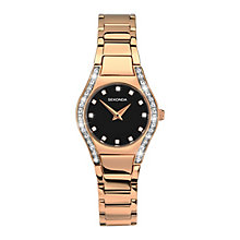 Sekonda Ladies' Aurora Rose Gold-Plated Bracelet Watch - Product number 3761029