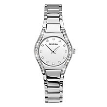 Sekonda Ladies' Stone Set Stainless Steel Bracelet Watch - Product number 3761045