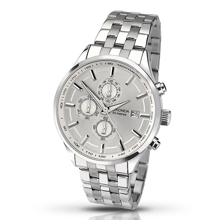 Sekonda Men's Chronograph Stainless Steel Bracelet Watch - Product number 3761126
