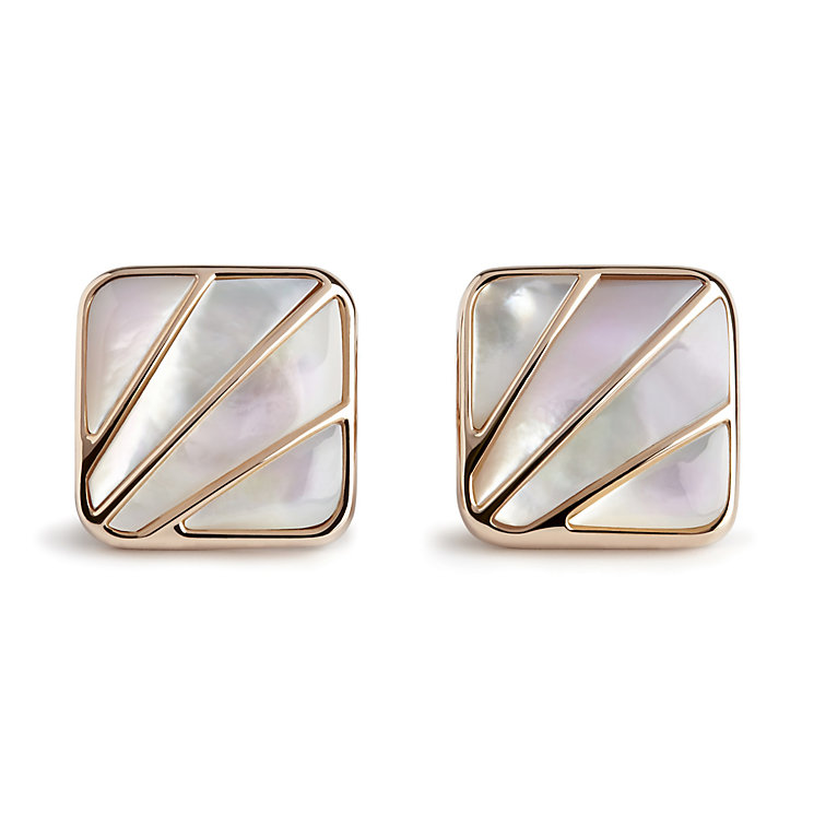 Simon Carter Deco Fan white mother of pearl cufflinks - Product number 3761584