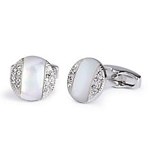 Simon Carter Astoria mother of pearl stone set cufflinks - Product number 3761606