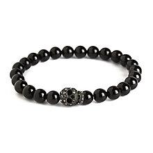 Simon Carter men's onyx skull bracelet - Product number 3761665
