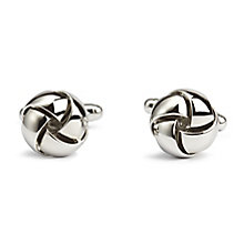 Simon Carter men's stainless steel knot cufflinks - Product number 3761681
