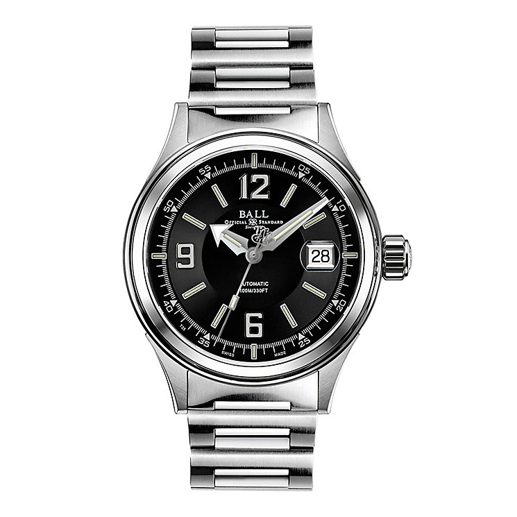 Ball Fireman Racer men's stainless steel bracelet watch - Product number 3762394