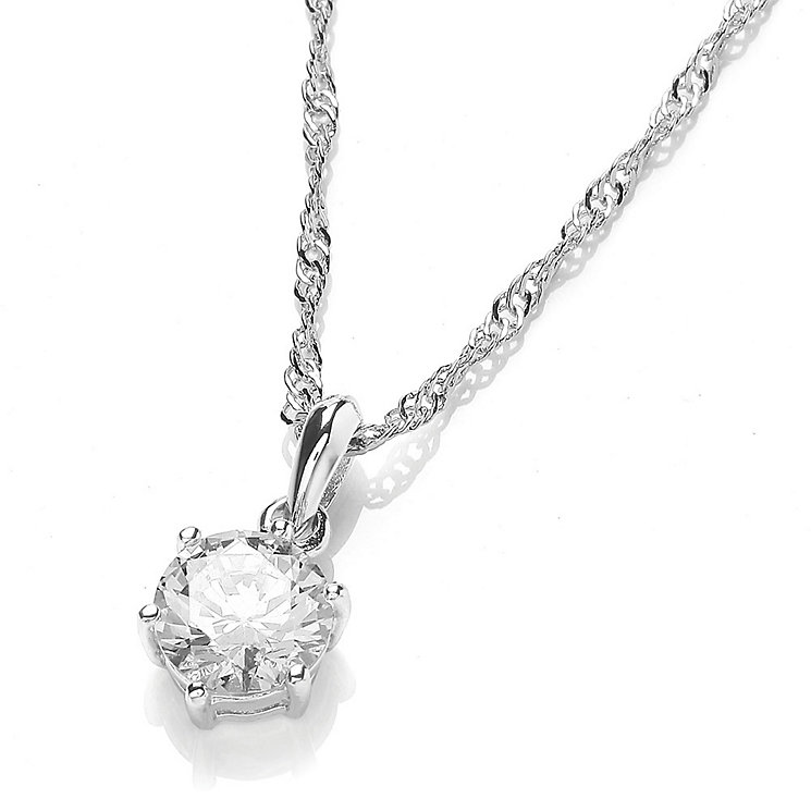 Buckley Brilliant Cut Cubic Zirconia Pendant - Product number 3762718