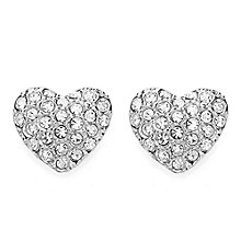 Buckley London Stone Set Miniature Heart Stud Earrings - Product number 3762750