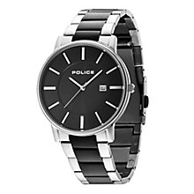 Police Men's Two Colour Stainless Steel Bracelet Watch - Product number 3763048