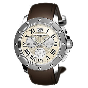 Raymond Weil Geneve Men's Stainless Steel Strap Watch - Product number 3763145