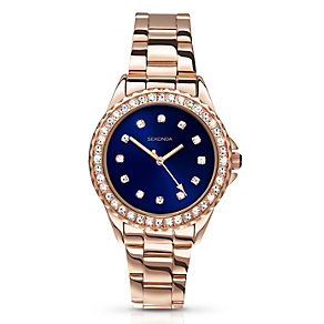 Sekonda Editions Ladies' Rose Gold-Plated Bracelet Watch - Product number 3765059
