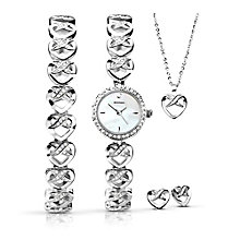 Sekonda Ladies' Bracelet Watch, Bracelet, Pendant & Earrings - Product number 3765083