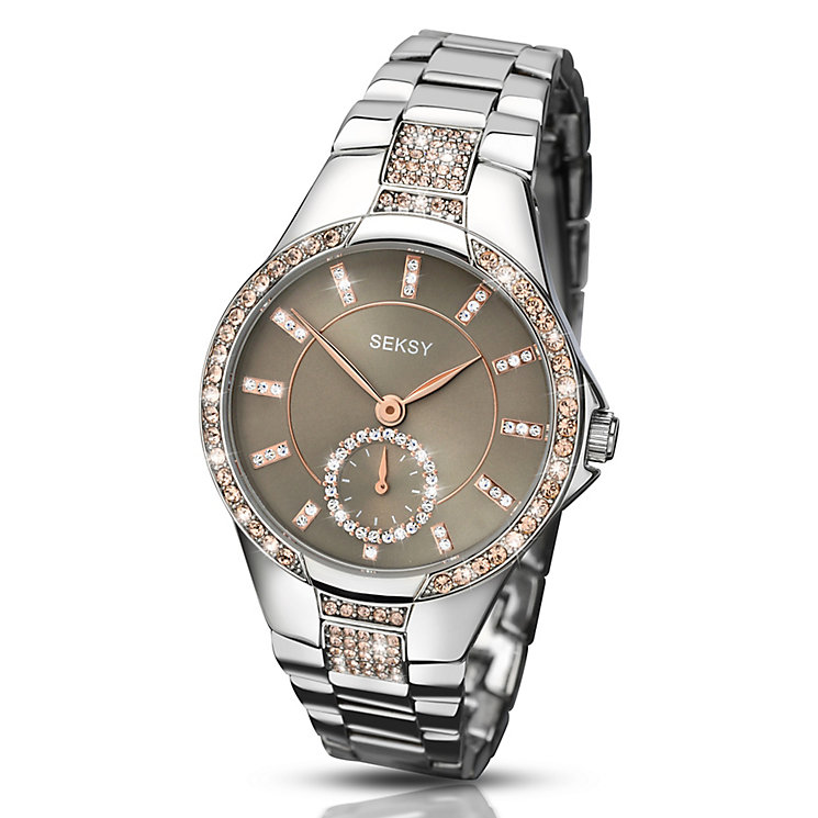 Seksy Eternal Ladies Stainless Steel Bracelet Watch - Product number 3765652