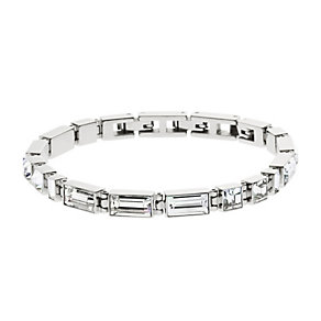 DKNY City Sparkle Sterling Silver Stone Set Bracelet - Product number 3769275