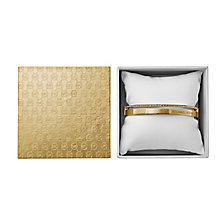 Michael Kors Ladies Gold Tone Crystal Set Bangle - Product number 3771539