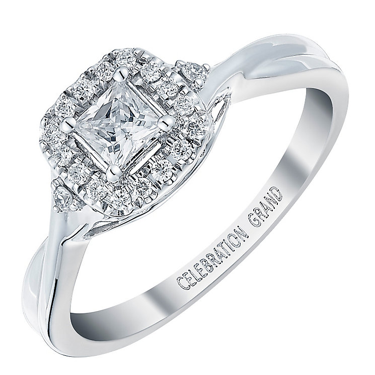 Celebration Grand 18ct White Gold 1/3 Carat Diamond Ring - Product number 3772349
