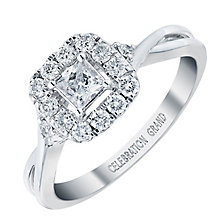 Celebration Grand 18ct White Gold 1/2 Carat Diamond Ring - Product number 3772519