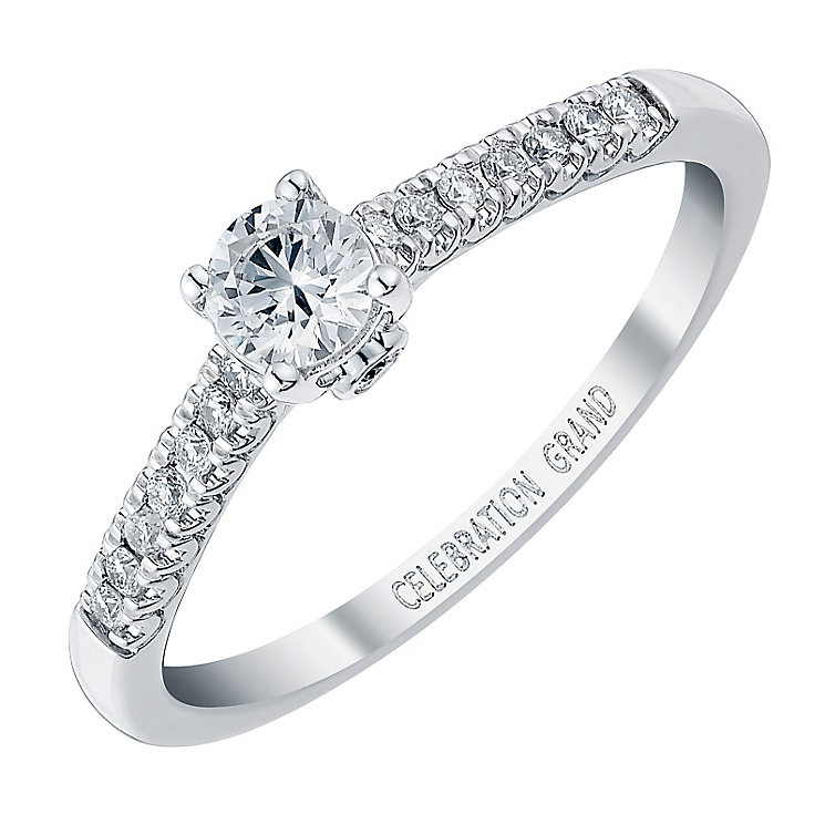 Celebration Grand 18ct White Gold 1/3 Carat Diamond Ring - Product number 3772675