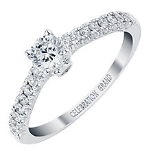 Celebration Grand 18ct White Gold 1/2 Carat Diamond Ring - Product number 3772829
